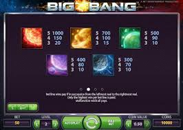 Big bang payout