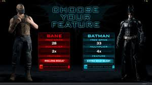 TDKR choose your feature