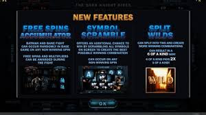 TDKR new features