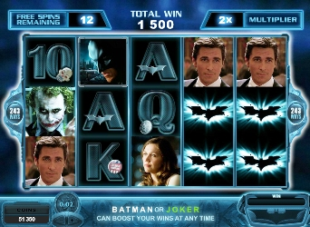 The Dark Knight Mobile Pokies Game