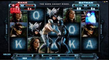 The Dark Knight Rises Free Pokies