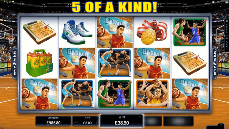 basketball-star-slot-screenshot
